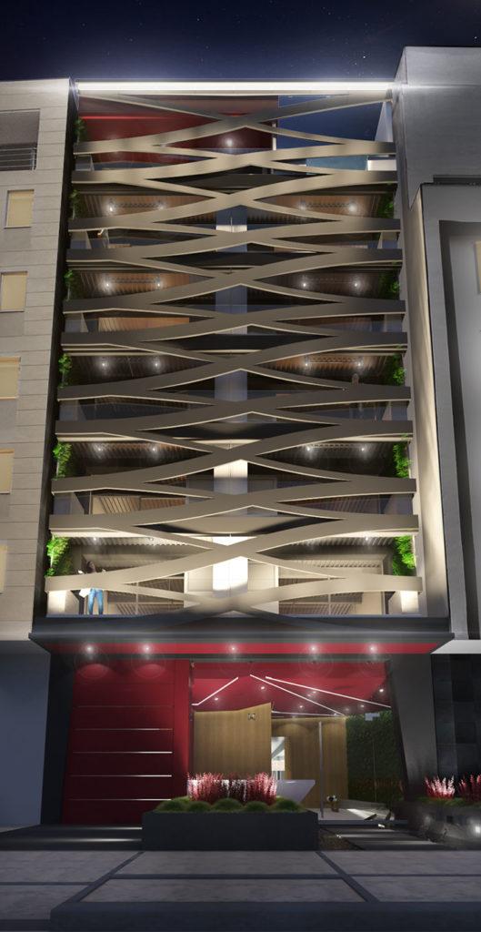 Edificio Blit donde se ha desarrollado un proyecto integral de arquitectura e interiorismo por Manuel Torres Design en Bogotá
