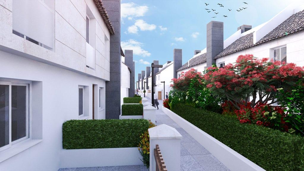 Zona exterior del proyecto de arquitectura e interiorismo por el estudio de Diseño Internacional Manuel Torres Design