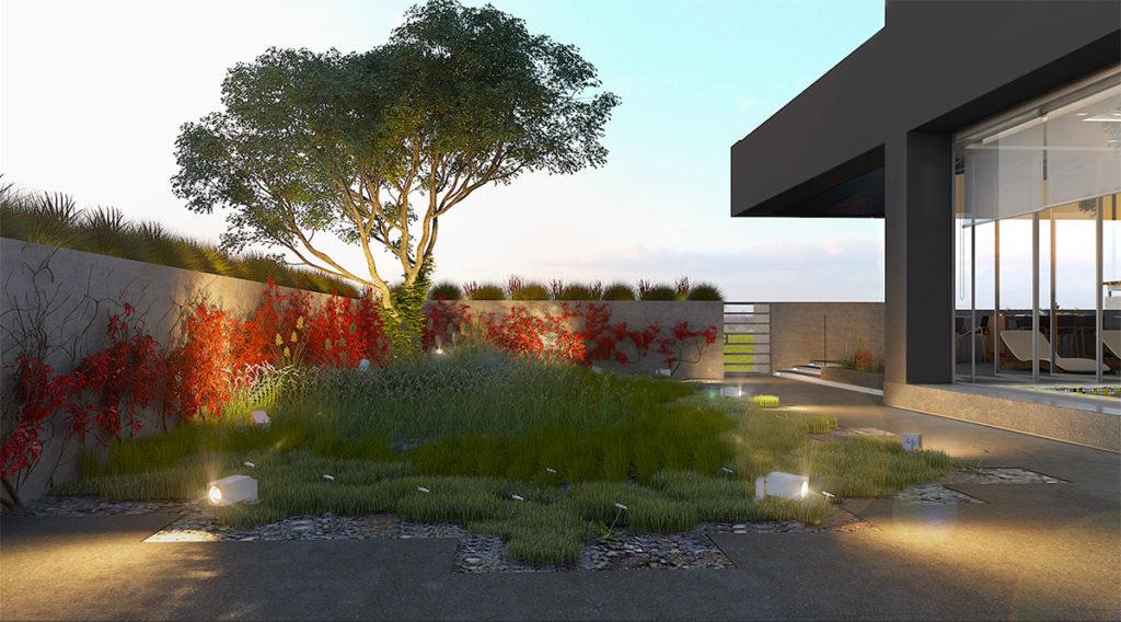 Proyecto integral de interiorismo del edificio residencial Tivé en Bosque del Real realizado por Manuel Torres Design