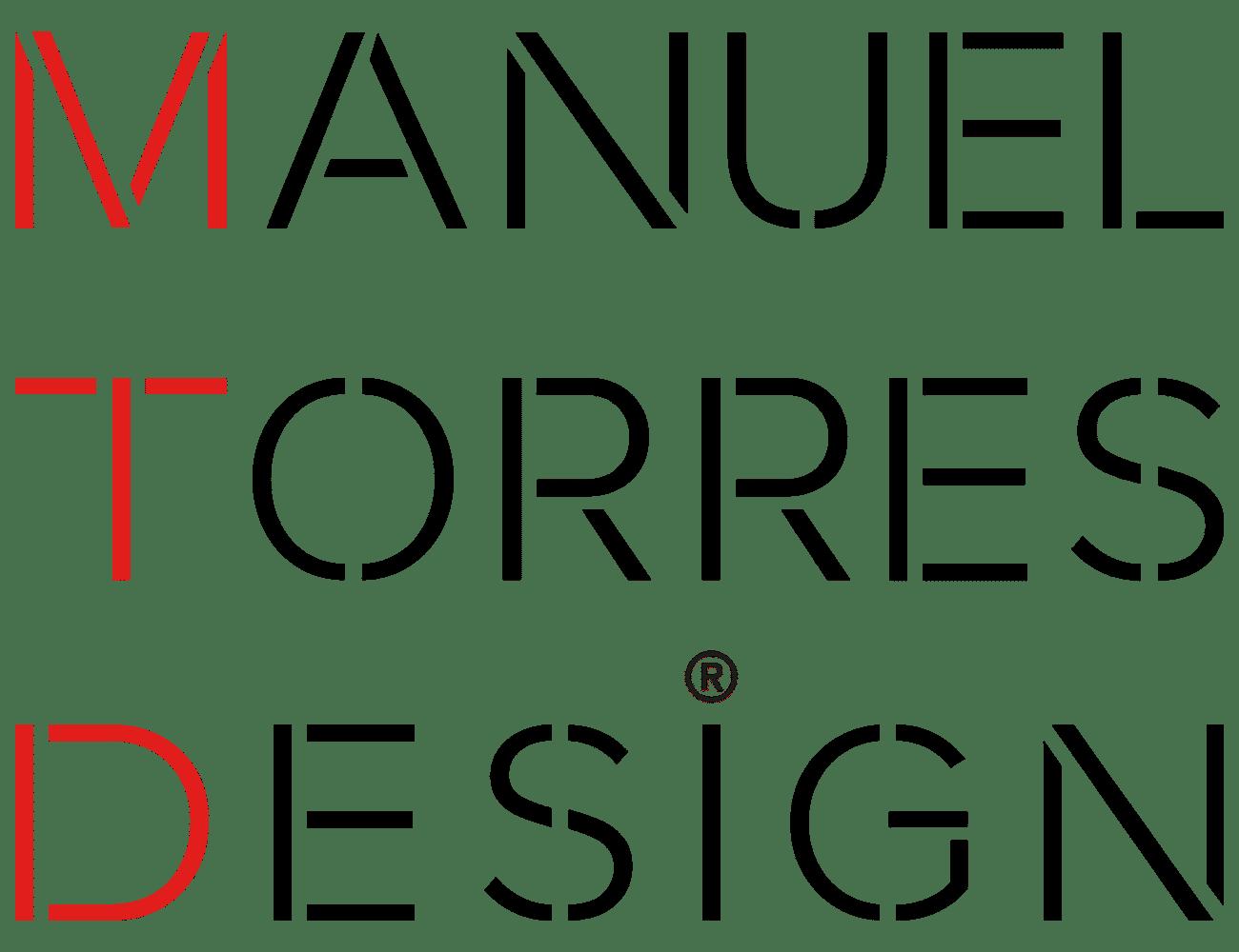 Logotipo de la firma de diseño internacional Manuel Torres Design