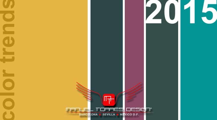 Tendencias de color 2015 por el estudio de decoración Manuel Torres Design