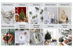 Tendencias navideñas de diseño