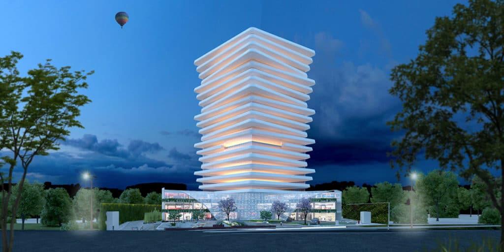 Diseño e interiorismo del edificio Tsaya en México por parte del estudio de diseño internacional Manuel Torres Design