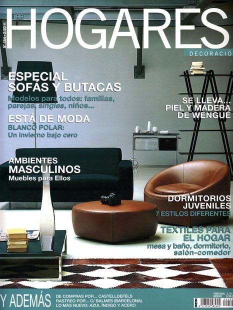 Portada Revista Hogares