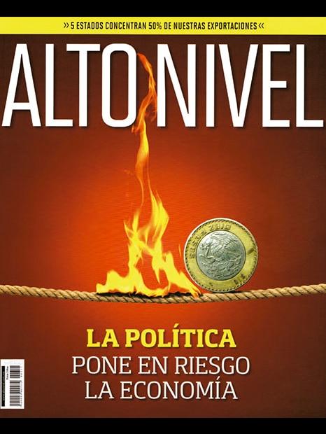Revista Alto Nivel Portada