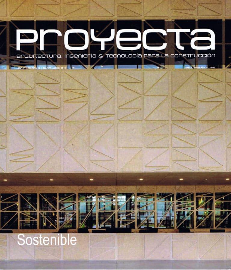 Portada Revista Proyecta