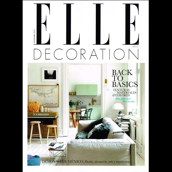Portada Revista Elle Decor