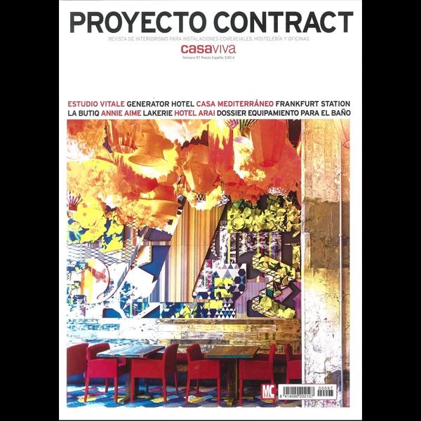 Revista ProyecyContract Portada