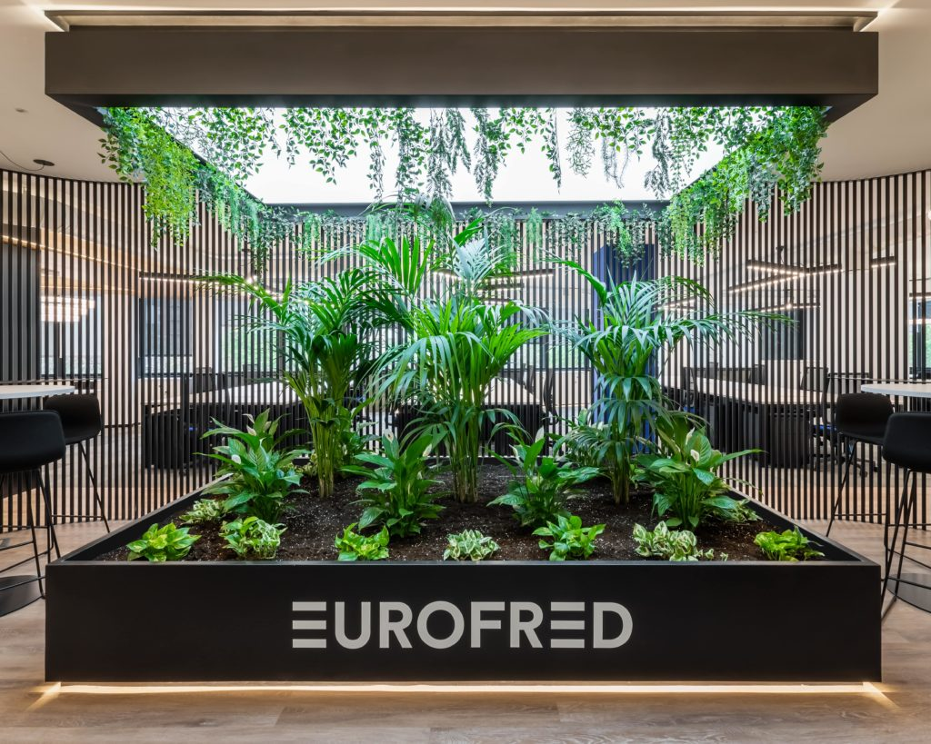 entrada recepcion oficinas eurofred