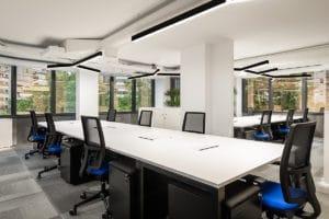 Domotica para oficinas en el Edificio Corporativo Eurofred Group
