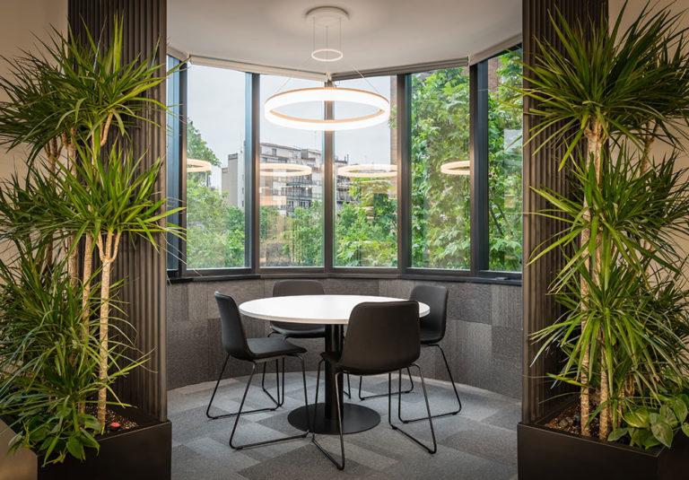 actuadores de domotica en las nuevas oficinas de Eurofred Group