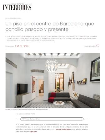 Revista interiores reforma integral en barcelona